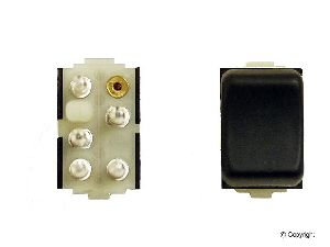 Genuine Door Window Switch  Rear