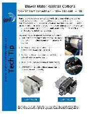 Global Parts HVAC Blower Motor Resistor  Front