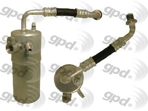 Global Parts A/C Compressor and Component Kit