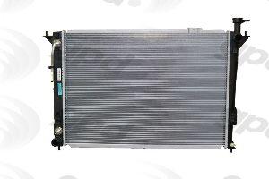 Radiator APDI 8012759 For Hyundai Santa Fe 2003 2004 2005 2006 3.5 V6