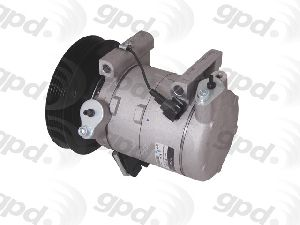 GPD A//C AC Compressor Kit New With clutch for Nissan Frontier 9642425
