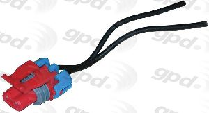 Global Parts A/C Compressor Cut-Out Switch Harness Connector