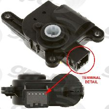 Global Parts HVAC Mode Door Actuator