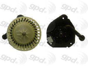 Global Parts HVAC Blower Motor  Rear