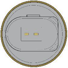 Global Parts Engine Coolant Temperature Sensor