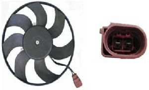 Hella Engine Cooling Fan Assembly  Right