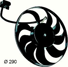 Hella Engine Cooling Fan Assembly