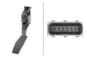 Hella Accelerator Pedal Sensor