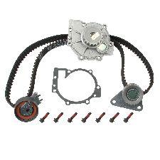 Hepu Engine Timing Belt Kit with Water Pump