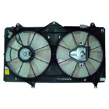 LKQ Dual Radiator and Condenser Fan Assembly