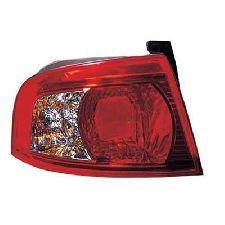 LKQ Tail Light Assembly  Left Outer