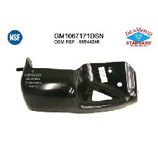 LKQ Bumper Bracket  Front Right Outer