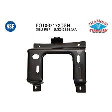 LKQ Bumper Mounting Plate  Front Right