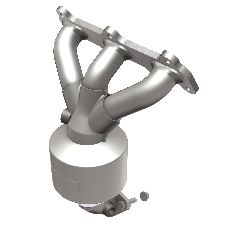 Magnaflow Catalytic Converter with Integrated Exhaust Manifold  Front