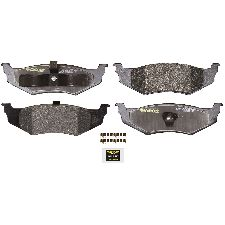 Monroe Disc Brake Pad Set  Rear