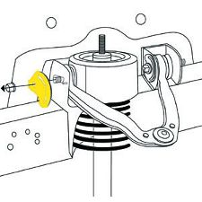 Moog Alignment Camber Caster Plate  Front Upper Strut