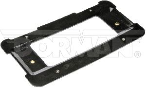 Motormite License Plate Bracket  Rear
