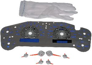 Motormite Instrument Cluster Upgrade Kit