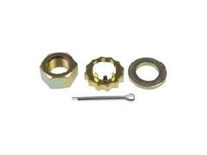 Motormite Spindle Lock Nut Kit  Front
