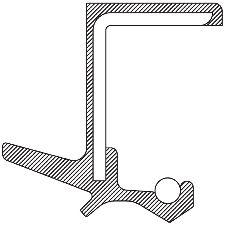National Bearing Automatic Transmission Output Shaft Seal  Left