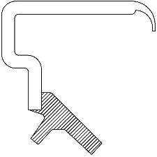 National Bearing Manual Transmission Shift Shaft Seal