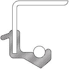 National Bearing Manual Transmission Output Shaft Seal  Left