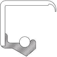 National Bearing Wheel Seal  Rear