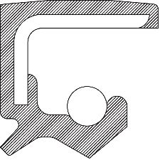 National Bearing Manual Transmission Output Shaft Seal