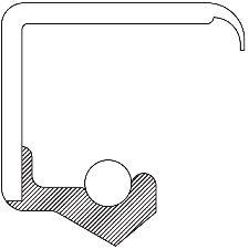 National Bearing Engine Crankshaft Seal Kit  Front