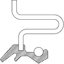 National Bearing Wheel Seal  Rear Inner