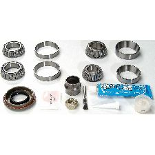 National Bearing Axle Differential Bearing and Seal Kit  Front