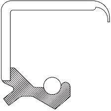 National Bearing Transfer Case Output Shaft Seal  Rear
