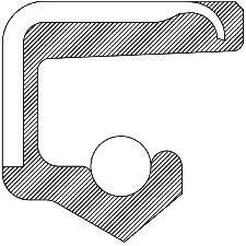 National Bearing Manual Transmission Output Shaft Seal  Right