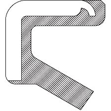 National Bearing Manual Transmission Shift Shaft Seal