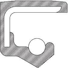 National Bearing Automatic Transmission Pinion Seal  Rear