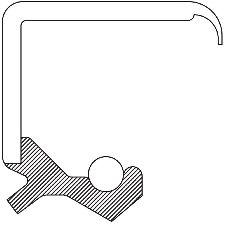 National Bearing Axle Differential Seal  Front
