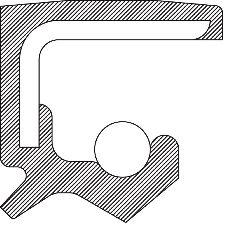 National Bearing Engine Crankshaft Seal  Rear