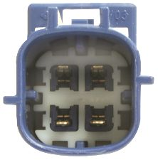 NGK Oxygen Sensor  Downstream Rear
