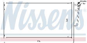 Nissens A/C Condenser