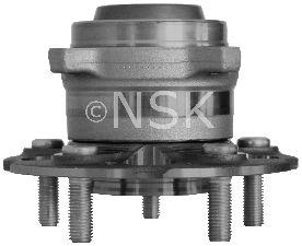 NSK Wheel Bearing and Hub Assembly  Rear