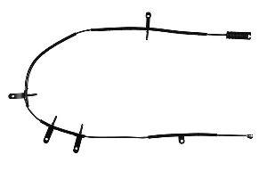 Pagid Disc Brake Pad Wear Sensor  Rear