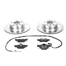 Power Stop Disc Brake Pad and Rotor Kit  Front