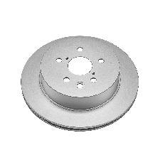 Power Stop Disc Brake Rotor  Rear