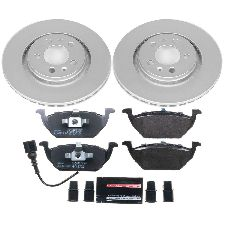 Powerstop Disc Brake Pad and Rotor Kit  Front