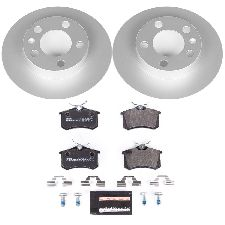 Powerstop Disc Brake Pad and Rotor Kit  Rear