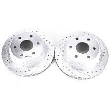 Powerstop Disc Brake Rotor Set  Rear