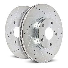 Powerstop Disc Brake Rotor Set  Rear
