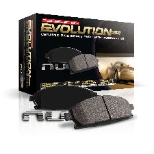 Powerstop Disc Brake Pad and Hardware Kit  Rear