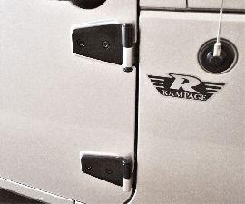 Rampage Door Hinge  Rear