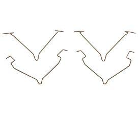 Raybestos Disc Brake Pad Drag Reduction Clip  Rear